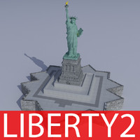 Statue of Liberty 2 (TEXTURED)
